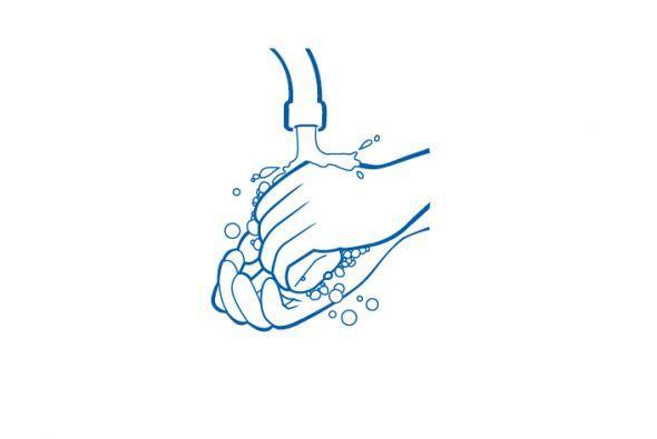 ¿Cuál es la mejor manera de lavarse las manos para evitar...