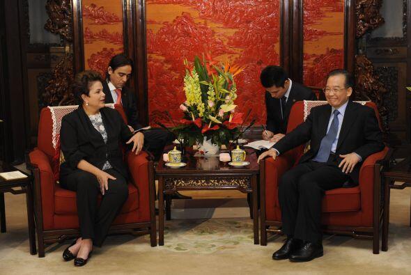 Entre las dos naciones se realizó la firma  de una serie de acuerdos com...