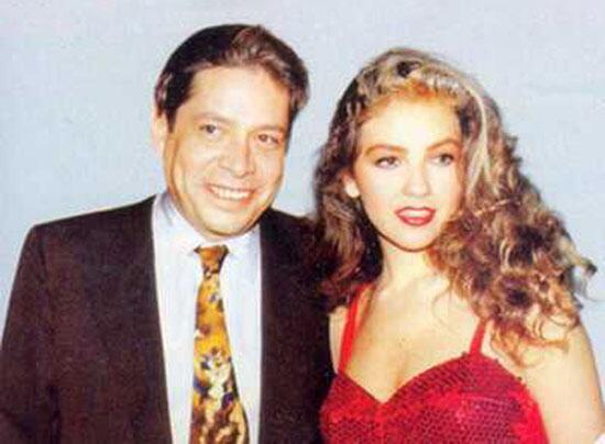 Thalía y Alfredo Díaz Ordaz