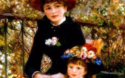 """El Instituto de Arte de Chicago afirma que """"Dos hermanas (en la ter..."""