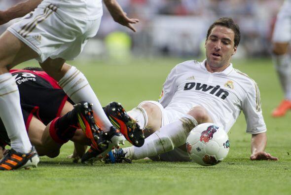 El tridente ofensivo de 'CR7'-Benzema-Higuaín ya había puesto el primer...