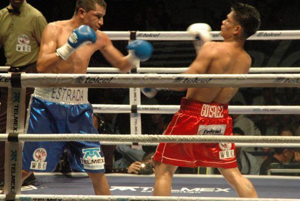 """Estrada tenía """"Tremendo"""" poder en los puños y se lo hizo saber a González."""