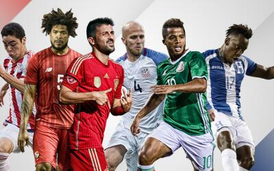 Jugadores de la MLS en fecha FIFA