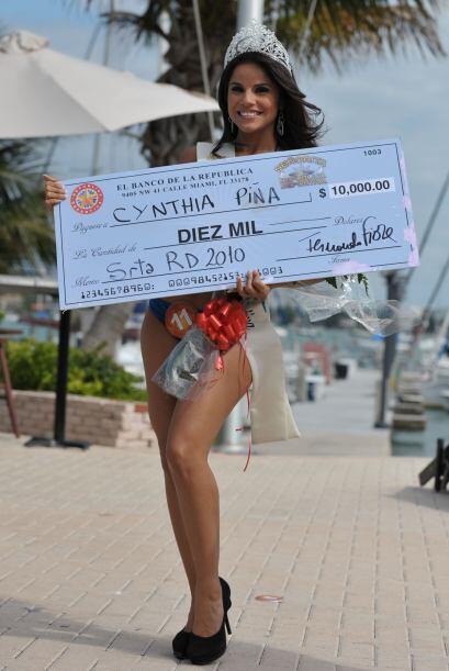 Mucho dinerito para Cinthia, para ella solita.
