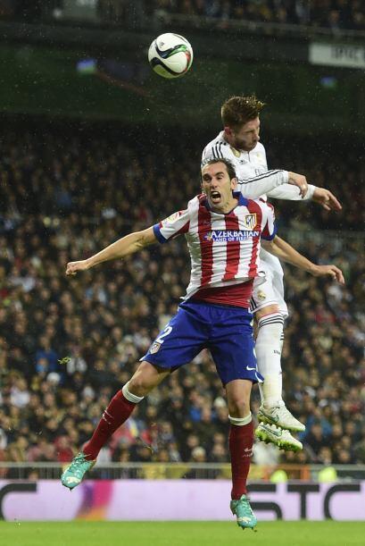 Ramos no dejó de pelear buscando la improbable remontada del Real que ag...