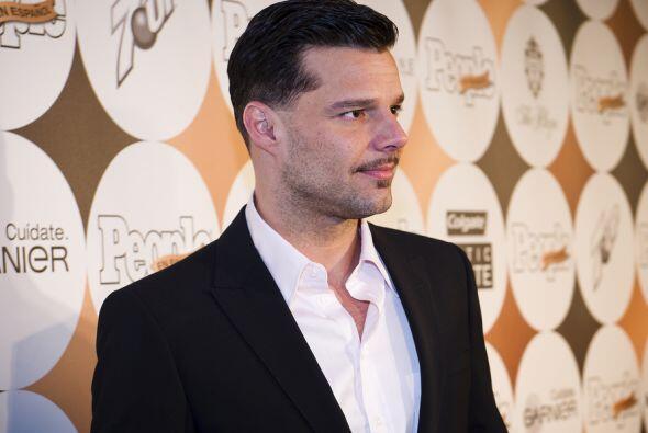 Gracias Ricky por ser tan bello, por dentro y por fuera, ¡qué bombón!