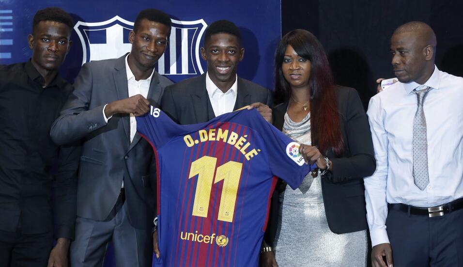 Ousmane Dembélé vuelve a los entrenamientos con Barcelona 63639536107699...