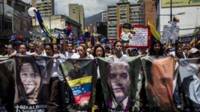 Marcha Venezuela. (Foto: Twitter)