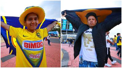 América vs. Pumas: la fiesta de los aficionados en el Azteca