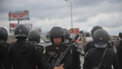 Guatemala también tiene previsto coordinar con México el combate al trán...