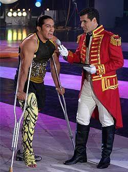 El 'Perro' Aguayo tuvo que dejar su lugar en la competencia por una lesi...