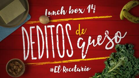 Deditos de queso + kale chips (Día 14)  - 23 ideas para lunch boxes #ElR...