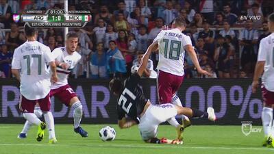 Otro penalote… ahora para Argentina