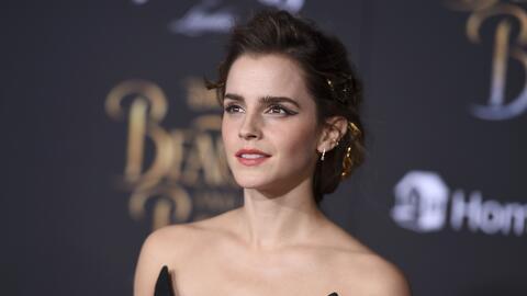 """Emma Watson llega al estreno de """"La Bella y la Bestia"""" en el c..."""