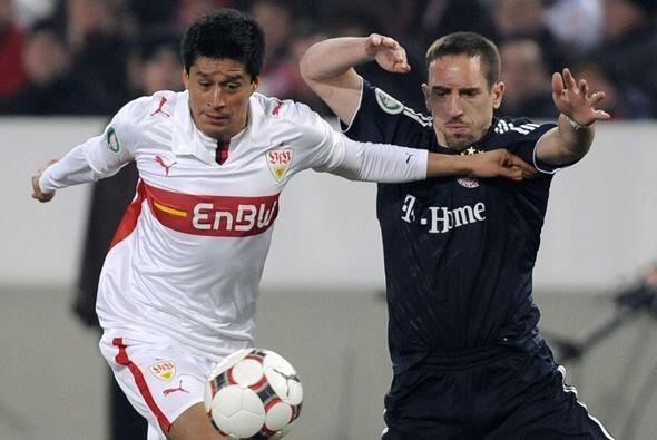 Ricardo Osorio lleva 4 años en el Stuttgart de Alemania, pero en su últi...