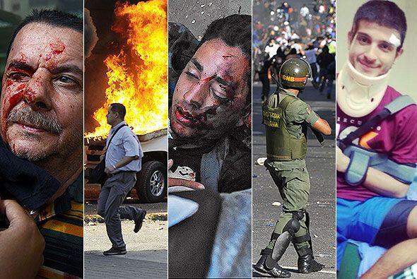 ADVERTENCIA. Algunas imágenes son fuertes. Muchas de estas fotos fueron...