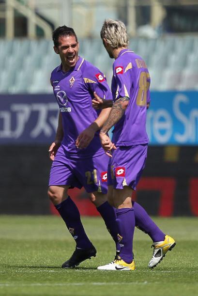 Gaetano D'Agostino marcó dos veces en el arco del Udinese.