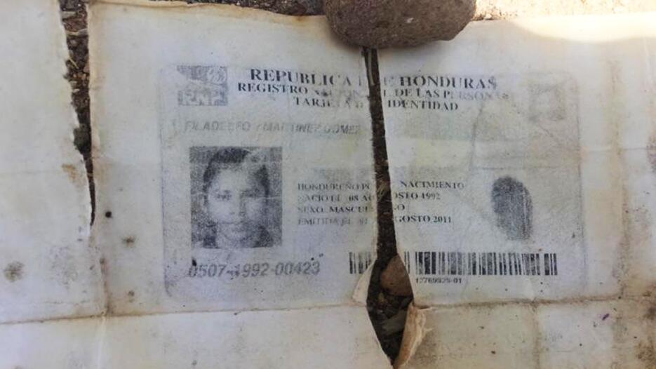 Encuentran restos de un inmigrante en la frontera de Arizona Restos5.jpg