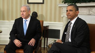Obama y Netanyahu se reunieron en la Casa Blanca en 2011