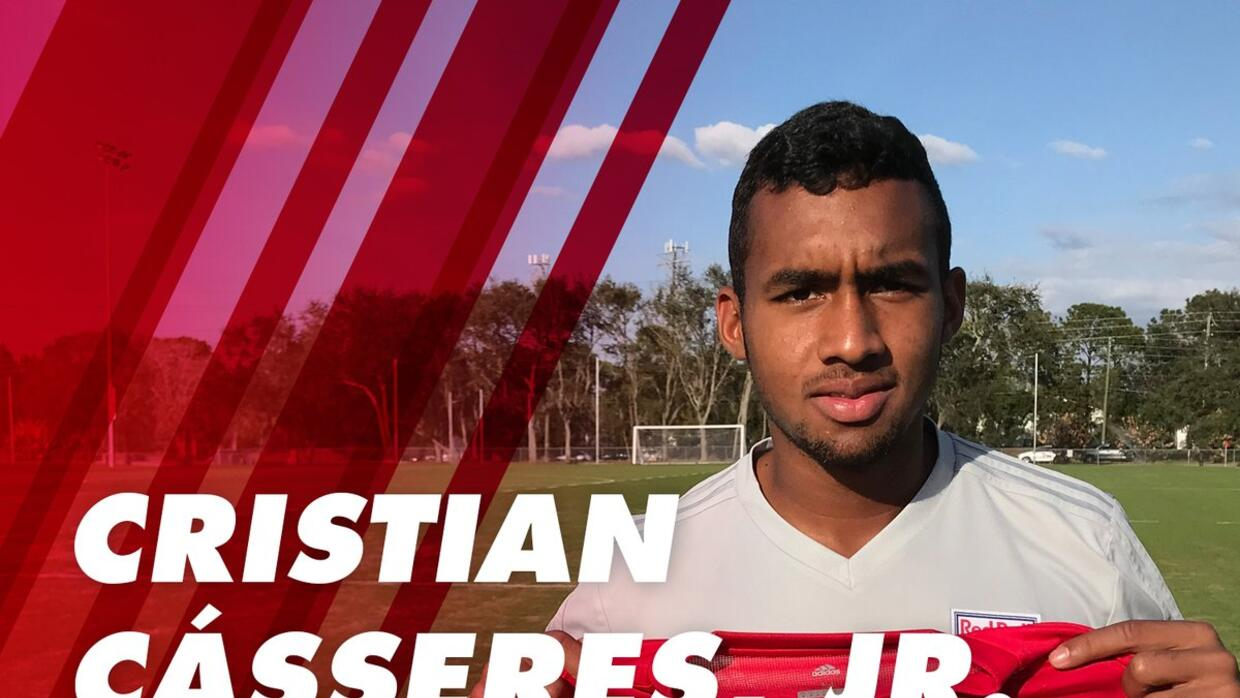 Cristian Cásseres Jr. New York Red Bulls