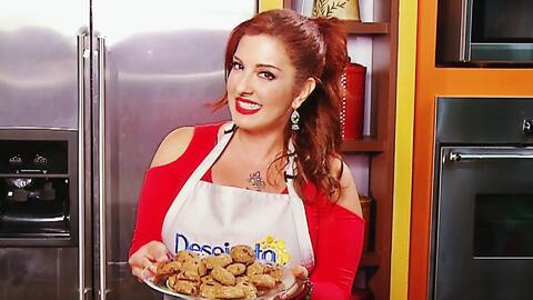 Sin remordimientos: Prueba estas galletas light de la Chef Samar Yorde