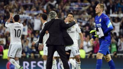 El técnico del Real Madrid dedicó elogios y reconocimiento a la entrega...