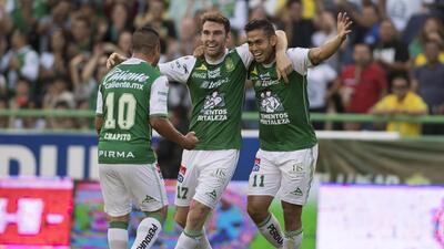El León está hecho una 'Fiera' tras vencer 3-1 al Pachuca gol-andres-and...