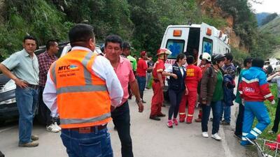 Fatídico accidente víal deja 7 muertos de un equipo sub 14 en Perú