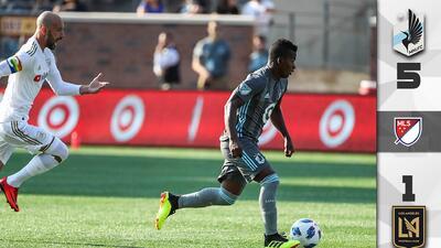 Darwin Quintero vuelve a lucirse en goleada del Minnesota United sobre LAFC