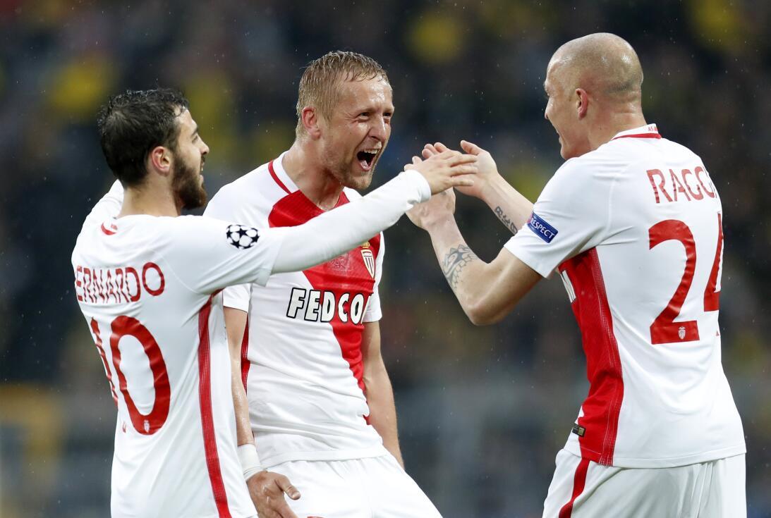 Mónaco sorprendió a Borussia Dortmund en Alemania en los cuartos de fina...