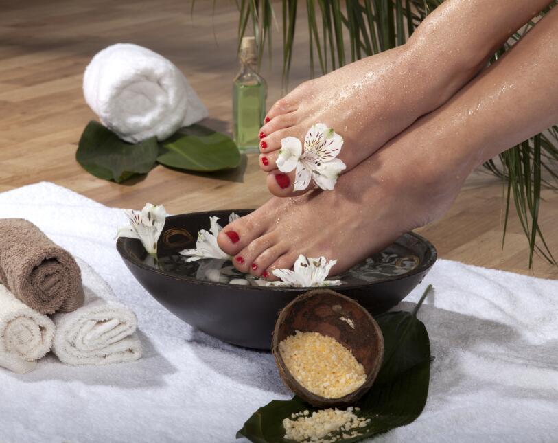 pies saludables