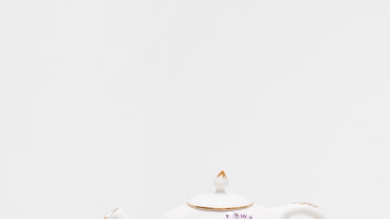 Juego de té de tres piezas