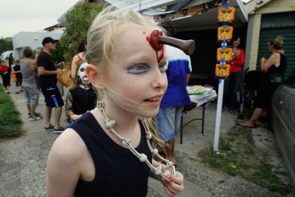 Pero a las niñas también les gusta lucir horrorosas, no olvides comprar...