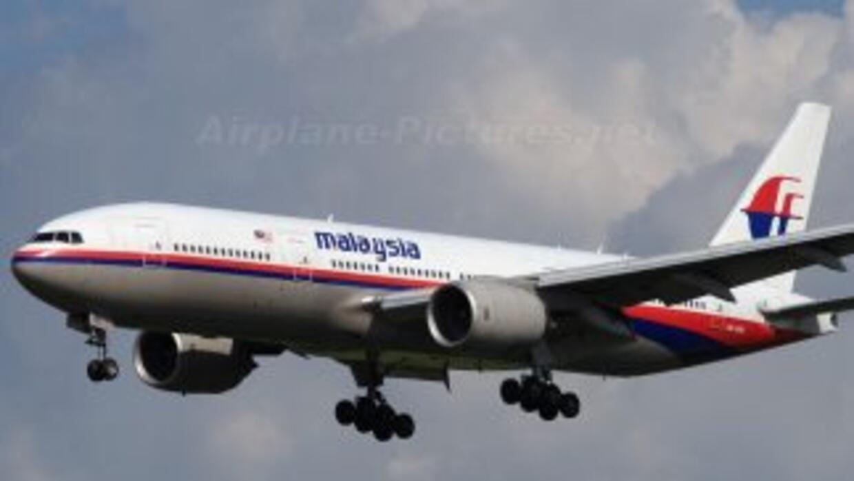 Avión Boeing 777 de Malasya Airlines