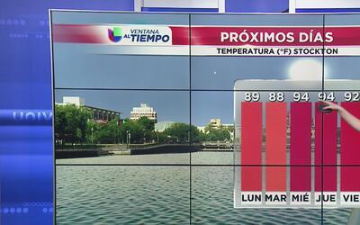 Temperaturas en el rango normal durante este inicio de semana