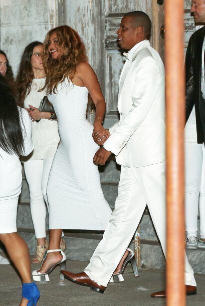 Muchos envidiosos dijeron que Beyoncé se veía mejor que la novia.