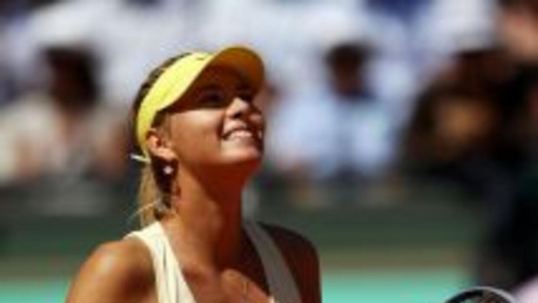 Sharapova aseguró que llega a Londres en la mejor forma que ha alcanzado...