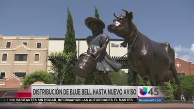 No habrá helados 'Blue Bell' hasta nuevo aviso