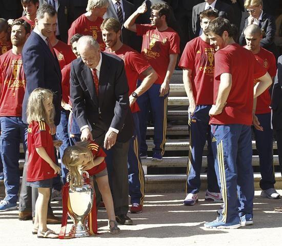 """Y haber logrado """"una España unida y diversa, moderna y plural, próspera..."""