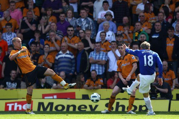 En otros de los partidos, Everton goleó 3 a 0 al Wolverhampton.