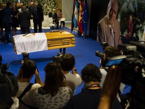 España despidió a la leyenda del Real Madrid, Alfredo Di S...