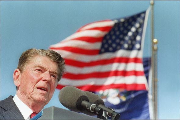 #40 -Ronald Reagan. Mandato desde 20 de enero de 1981 y hasta 20 de ener...