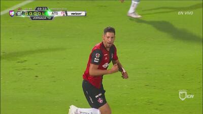 ¡Gol de Atlas! Omar González se reivindica y pone el descuento