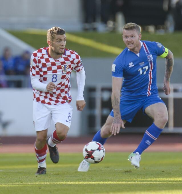 Islandia: Aron Gunnarsson y Heimir Hallgrimsson votaron por Cristiano Ro...