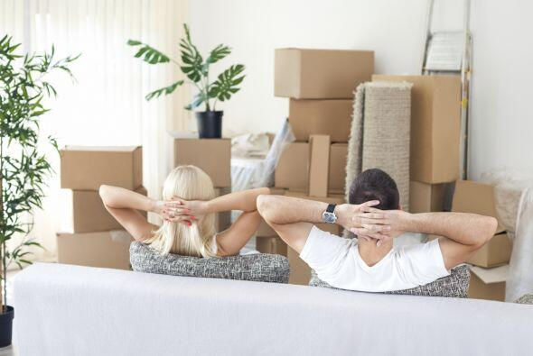 Después del arduo trabajo toma cinco minutos y disfruta de tu nuevo hogar.