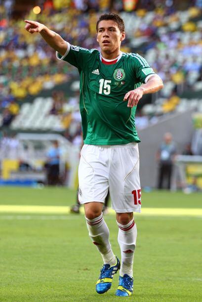Maynor Figueroa vs. Héctor Moreno  -Héctor Moreno.- El jugador mexicano...