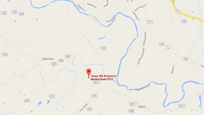 El incidente se registró en las inmediaciones de la autopista estatal 30...
