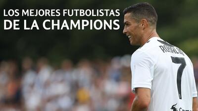 Los cinco mejores futbolistas de la Champions: Cristiano Ronaldo