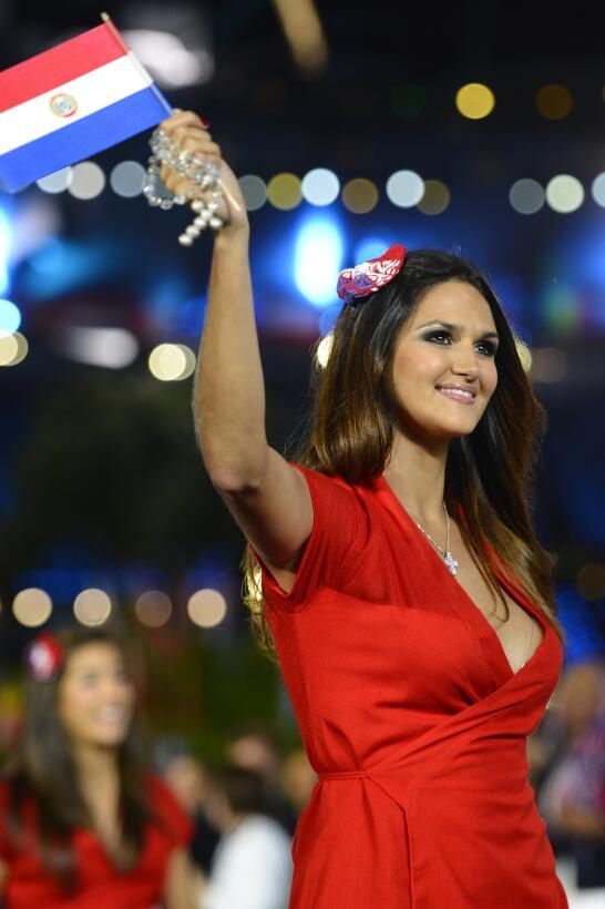 Leryn Franco, la atleta paraguaya que se convirtió en ícono de belleza m...