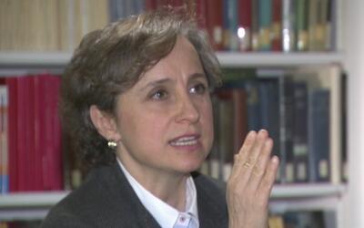 Carmen Aristegui destaca la tarea de la prensa en la administración Trump
